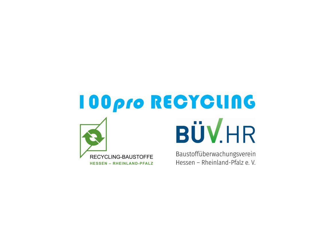 Aktion 100pro Recycling gestartet!